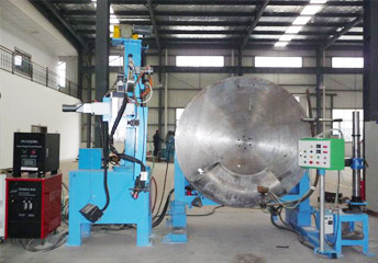 Automatic Welding Machine For Inner Arc And Outer Arc Of Elbows