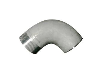奥氏体不锈钢对焊、螺纹双连接形式无缝弯头